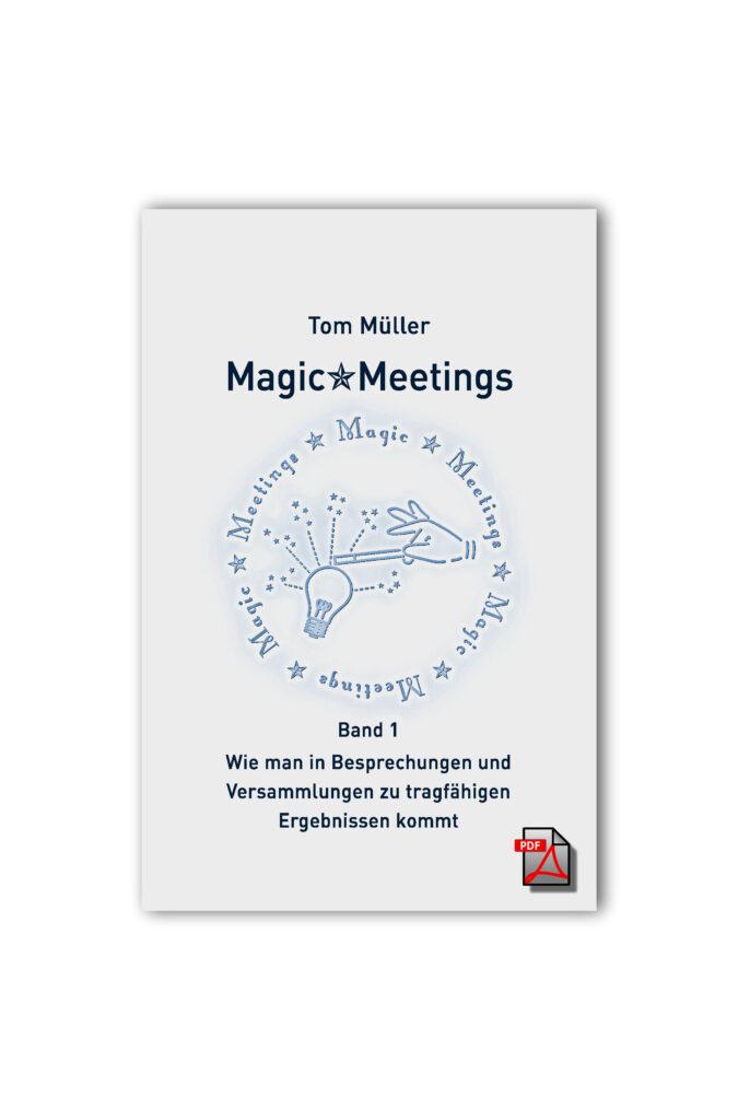 Titel-Abbildung Magic*Meetings-Buch von Tom Müller